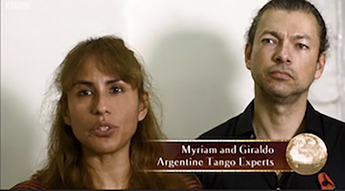 Strictly Argentine Tango Coaches