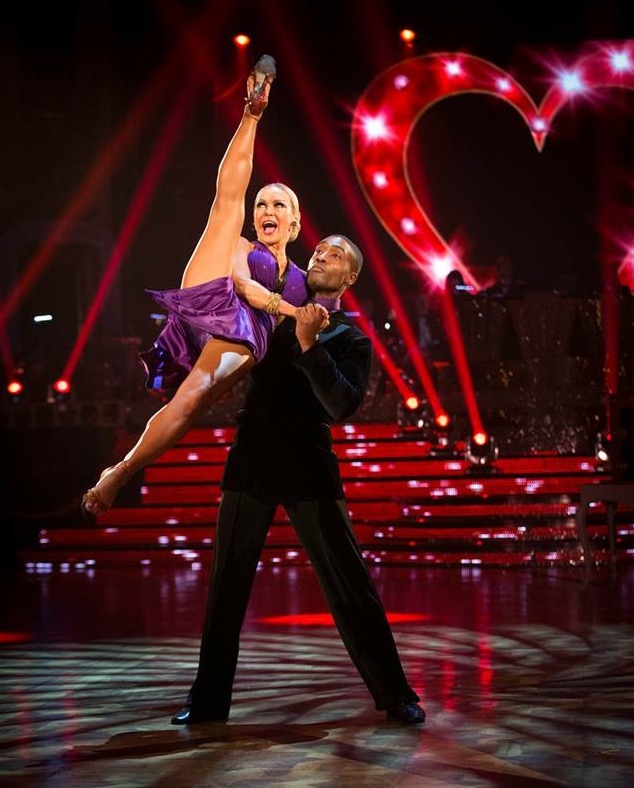 BBC Strictly Come Dancing Tango Roxanne Mina and Giraldo