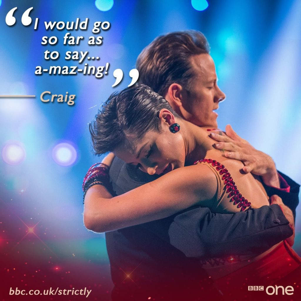 BBC Strictly Come Dancing Argentine Tango
