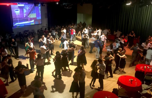 Tango event nights in London